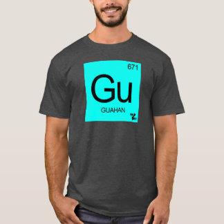 T-shirt La GUAM COURENT l'élément rare de l'île 671