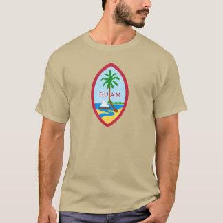 T-shirt La GUAM - emblème/drapeau/manteau des bras/symbole
