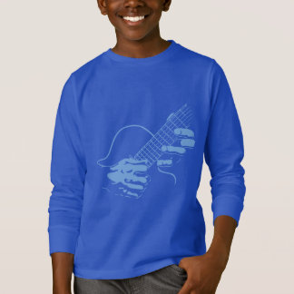 T-shirt La guitare remet II - bleu