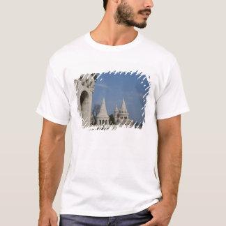T-shirt La Hongrie, capitale de Budapest. Buda, château