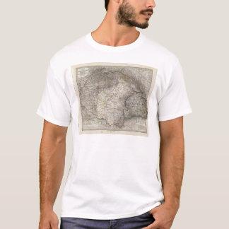 T-shirt La Hongrie, la Transylvanie, Slavonie, Croatie