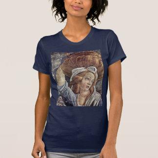 T-shirt La jeunesse de Moïse, détail par Botticelli Sandro