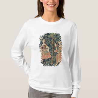T-shirt La La luttent Seigneuriale : Broderie, c.1500