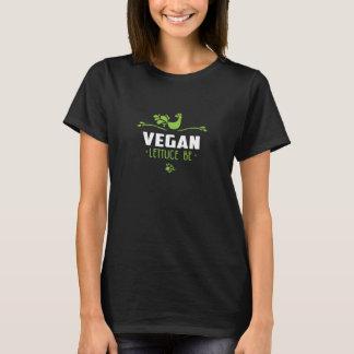 T-shirt La laitue végétalienne soit