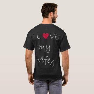 T-shirt La langue d'amour la plus romantique pour votre