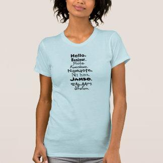 T-shirt La langue de l'amour