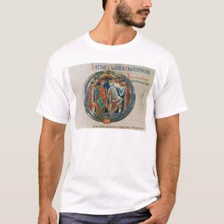 """T-shirt La lettre initiale """"O"""" Osculatur je - laissez-moi"""