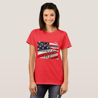 T-shirt La liberté et la justice des femmes pour tout le