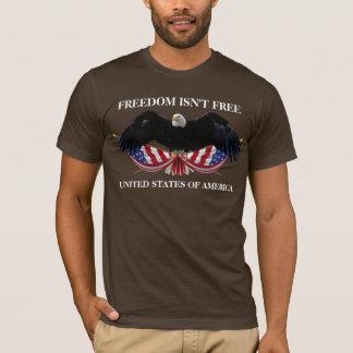 T-shirt La liberté n'est pas l'aigle chauve libre