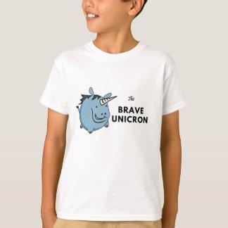 T-shirt La licorne courageuse le plus tard