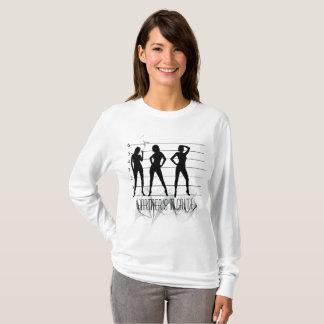 T-shirt La ligne/associés - dedans - crime