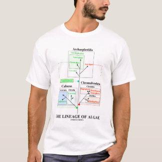 T-shirt La lignée des algues (taxonomie)