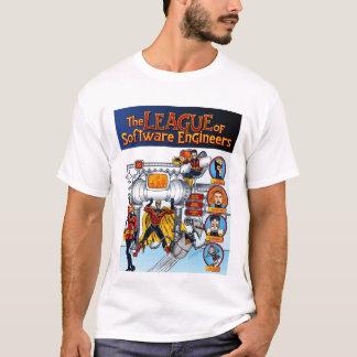 T-shirt La ligue de la chemise de Software Engineers