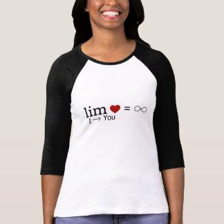 T-shirt La limite d'amour PERSONNALISENT
