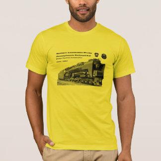 T-shirt La locomotive de Baldwin fonctionne la turbine à