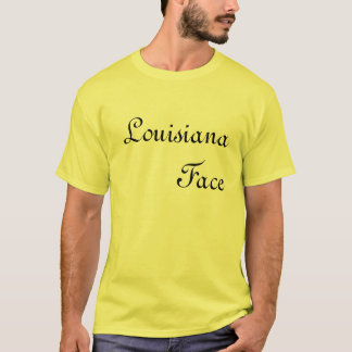 T-shirt La Louisiane font face