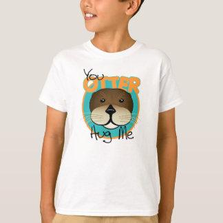 T-shirt La loutre m'étreignent