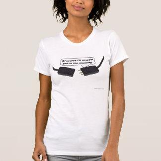 T-shirt La lumière T des femmes de respect de Pin