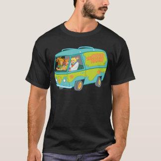 T-shirt La machine de mystère a tiré 12