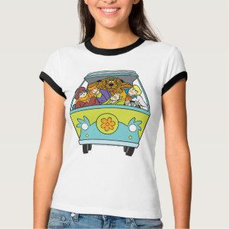T-shirt La machine de mystère a tiré 18
