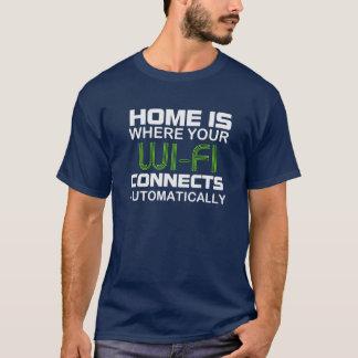T-shirt La MAISON est OÙ votre WI-FI se relie