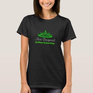 T-shirt La maladie de Lyme de Mlle Diagnosed