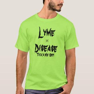 T-shirt La maladie de Lyme, fait tic tac je !