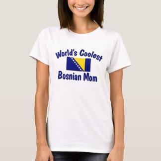 T-shirt La maman bosnienne la plus fraîche