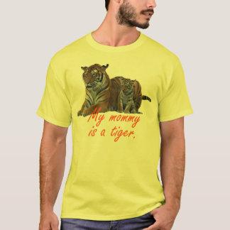 T-shirt La maman est un tigre - petit