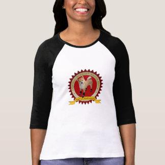 T-shirt La marque de Barkley des femmes initialise 3/4