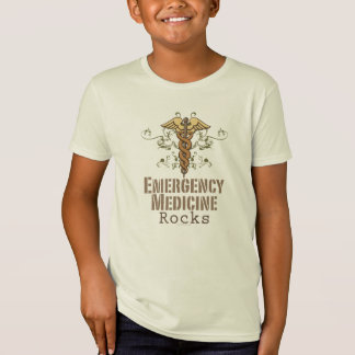 T-Shirt La médecine de secours bascule la pièce en t