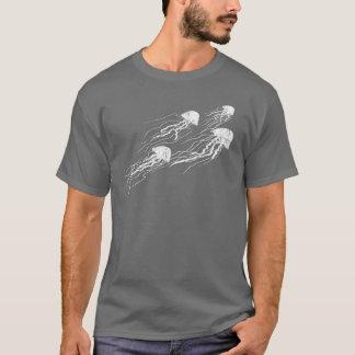 T-shirt La méduse silhouette le tee - shirt foncé