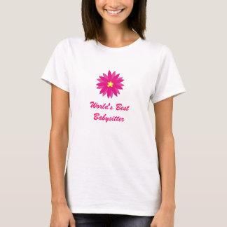T-shirt La meilleure babysitter du monde