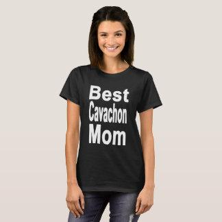 T-shirt La meilleure chemise de maman de Cavachon