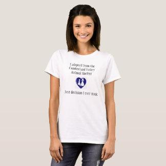 T-shirt La meilleure décision que j'ai jamais prise