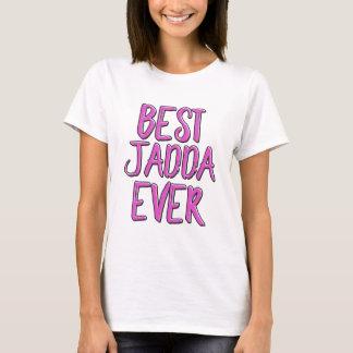 T-shirt La meilleure grand-mère de jadda jamais