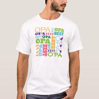 T-shirt La meilleure idée de cadeau de grand-papa d'Opa