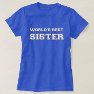 T-shirt La meilleure soeur du monde