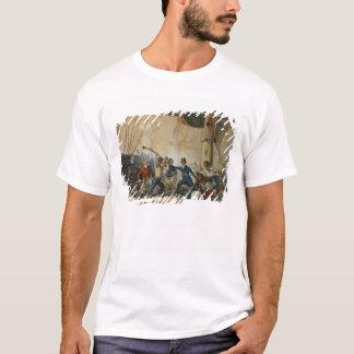 T-shirt La mêlée à bord du chesapeake, 1813