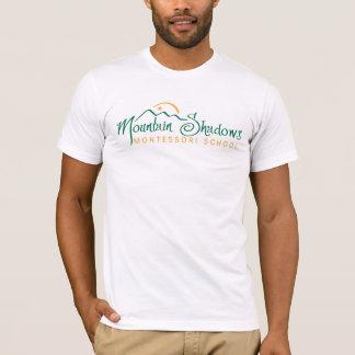 T-shirt La montagne ombrage la pièce en t des hommes