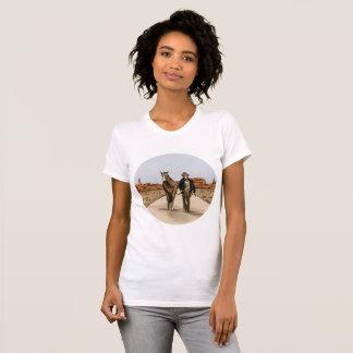 T-shirt La mort americana