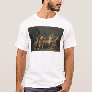 T-shirt La mort de Socrates