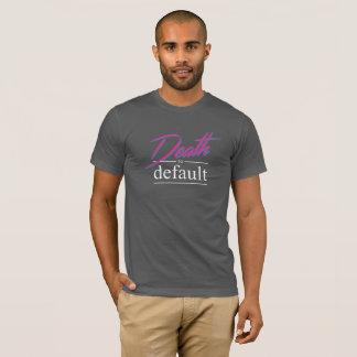 T-shirt La mort foncée à transférer