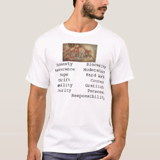 T-shirt La mosaïque du projet 9-12
