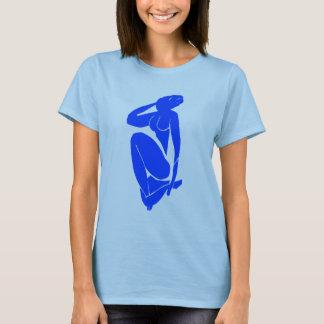 T-shirt La Muse bleue