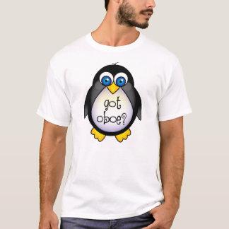 T-shirt La musique mignonne de pingouin a obtenu le