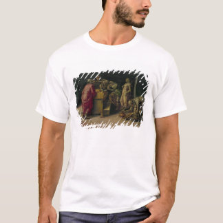 T-shirt La naissance de St John le baptiste (huile sur le