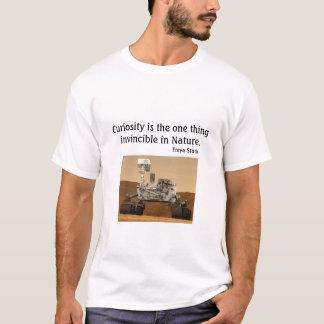 T-shirt La NASA 2012 de curiosité de Mars Rover