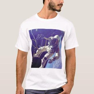 T-shirt La NASA américaine de marcheur de l'espace