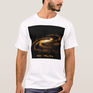 T-shirt La NASA - Manière laiteuse
